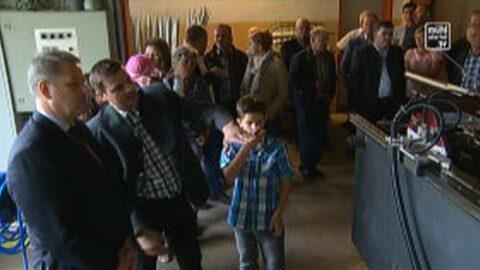 Agrarminister zu Besuch in Reichau und Bad Leonfelden