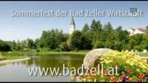 Ankündigung Sommerfest der Bad Zeller Wirtschaft