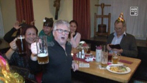 5-Uhr-Bier in der Schlossbrauerei Weinberg