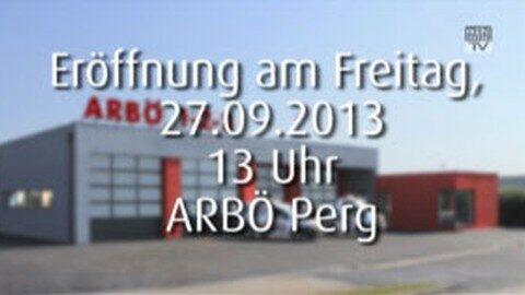 Ankündigung Eröffnung ARBÖ Perg