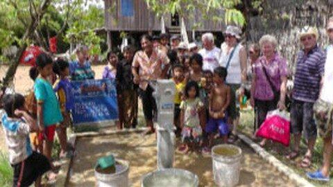 Leopoldschlag unterstützt Hilfsprojekt in Kambodscha