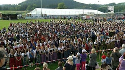 Bezirksmusikfest Freistadt in Kaltenberg 2019