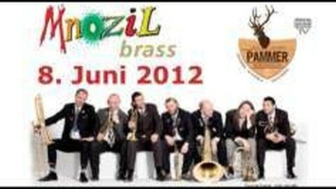 Ankündigung Mnozil Brass im Gasthaus Pammer in Leopoldschlag 2012