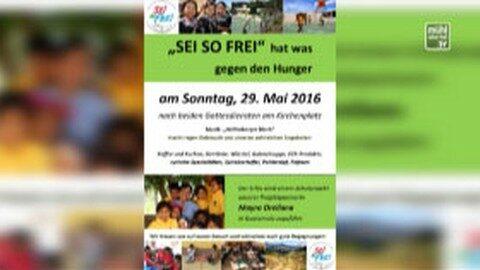 """Ankündigung """"Sei so frei"""" Veranstaltung in Helfenberg am 29.5.2016"""