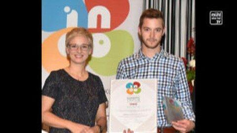 ineo Lehrlings-Auszeichnung für Buchner Holzbaumeister aus Unterweißenbach