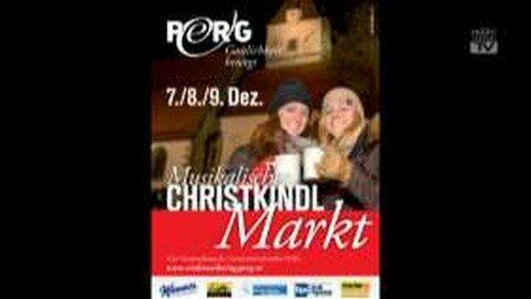 Ankündigung Christkindlmarkt Perg 2012
