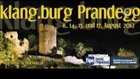 Ankündigung Klang.Burg.Prandegg 2012