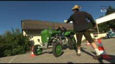 Traktorroas in der Traumarena