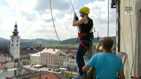 Eröffnung Höhenflug in Freistadt