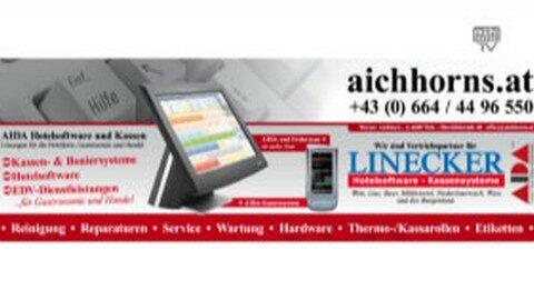 Werbung Firma Aichhorn