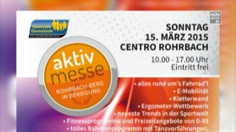 Ankündigung Aktiv Messe in Rohrbach