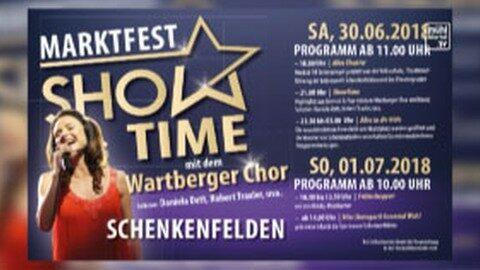 Ankündigungsbericht Marktfest Schenkenfelden am 30.6. und 1.7.2018