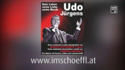 Ankündigung: Eine Hommage an Udo Jürgens – im Kulturhaus Im Schöffl am 13.04.2018