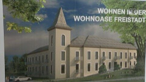 Grundsteinlegung Wohnoase Freistadt