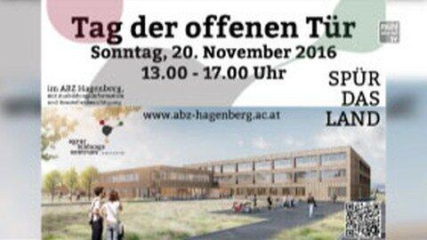 Ankündigung Ausbildungszentraum Hagenberg, Tag der offenen Tür, 20.11.2016, 13 – 17 Uhr