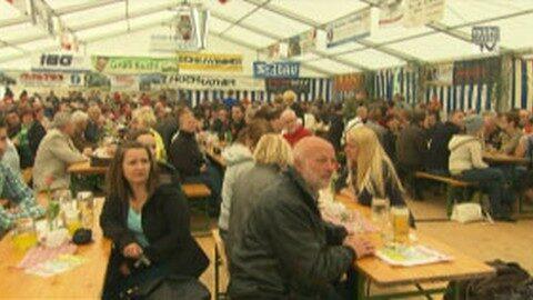 Zeltfest der FF Wartberg
