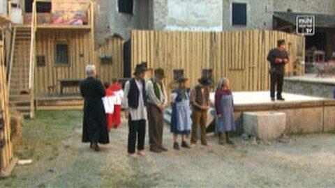 """Premiere """"Die Siebtelbauern"""", Burgfestspiele Reichenau"""