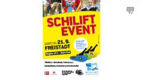 Ankündigung Event beim Schilift Freistadt