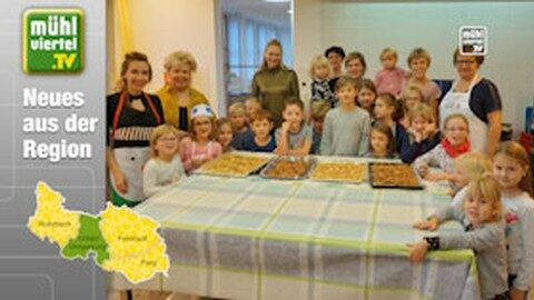 Kinder backen Kekse in Lichtenberg