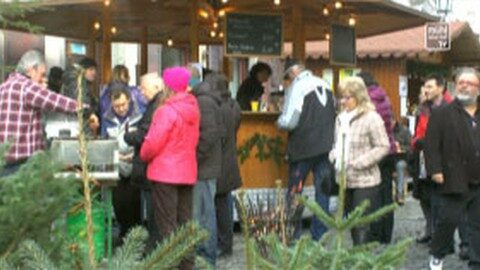 Bio-Adventmarkt in Grein 2014