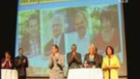 Präsentation des Bürgermeister-Teams in Freistadt