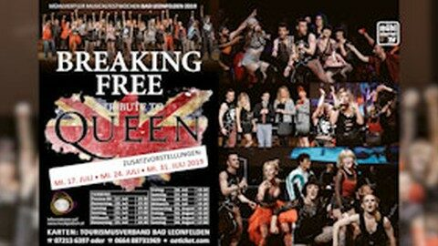 "Ankündigung Breaking Free ""A Tribute to Queen"""