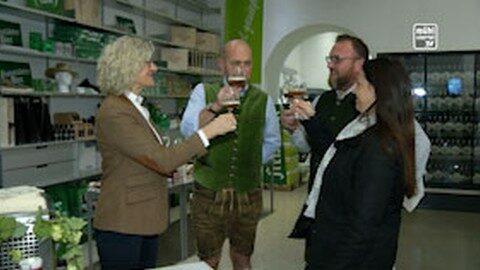 Bockbierverkostung in der Brauerei Freistadt
