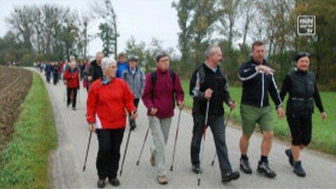 400 Wanderer beim Grenzwandertag Katsdorf