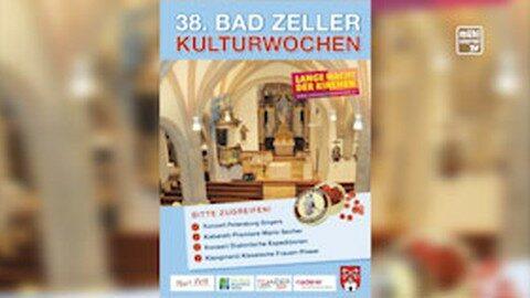 Ankündigung Eröffnung Bad Zeller Kulturwochen