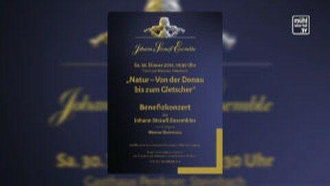 Ankündigung Benefizkonzert in Alberndorf