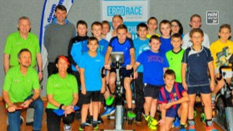 128 Schüler der Neuen Sportmittelschule Bad Kreuzen nahmen am Ergo-School-Race teil