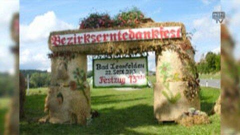 Ankündigung Bezirks-Erntedankfest in Bad Leonfelden