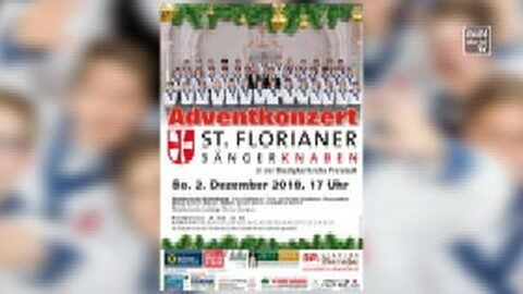 Ankündigung St. Florianer Sängerknaben in der Pfarrkirche Freistadt