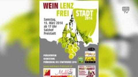 Ankündigung Weinlenz Freistadt 2014