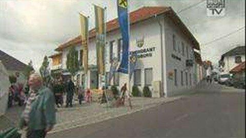 Eröffnung Raiffeisenbank Waldburg