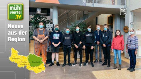 8 neue Lehrlinge bei Schinko in Neumarkt