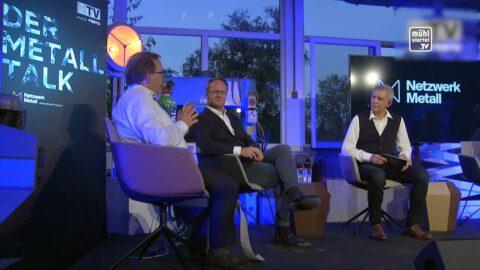 Metall Talk bei der Firma Hannl Metallbau in Katsdorf