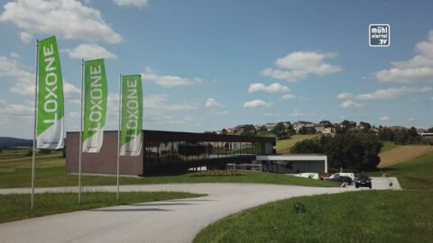 Spatenstich Loxone Campus in Kollerschlag