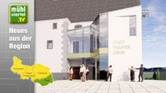 Spatenstich Stadttheater Grein – Sanierung und Zubau