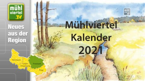 Neuer Kalender für 2021 von Rudolf Prinz