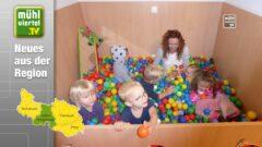Kindergarten Mühle feiert den Wiedereinzug nach Umbau