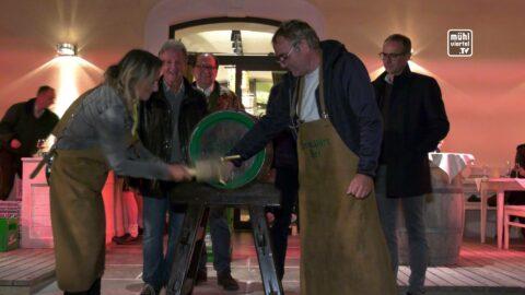Bockbieranstich und Autoverlosung in Freistadt 2020