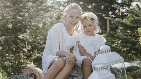 Weihnachtsfotoshooting mit Melanie Peterseil aus Katsdorf