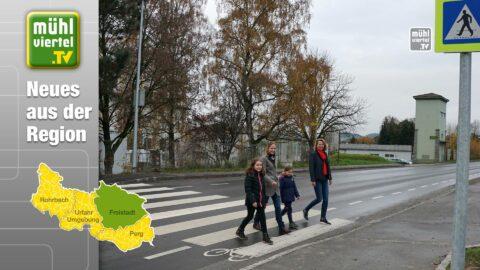 Mehr Verkehrssicherheit in der Leonfeldner Straße