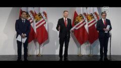 Landeshauptmann Stelzer im Gespräch über die aktuelle Situation