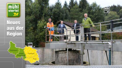 Die Bürgermeister von Oberneukirchen und St. Veit pflanzen Partnerschaftsbaum