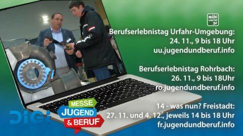 Digitale Berufsinformationsmessen in Rohrbach, Urfahr-Umgebung und Freistadt