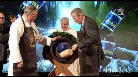 Rückblick 2012: Bockbieranstich Stift Schlägl