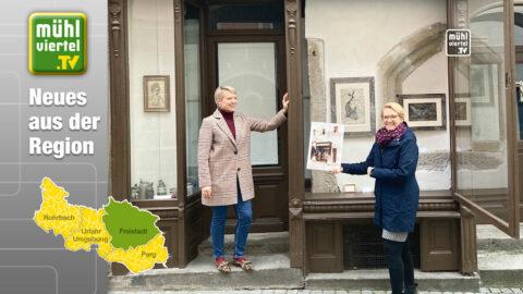 Eine Zeitreise durchs Schaufenster in Freistadt und besondere Krippen