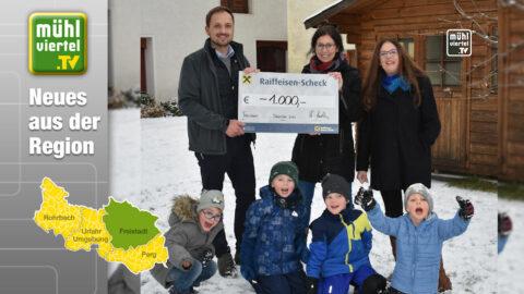 Autohaus Kastler unterstütztKindergarten der Lebenshilfe Freistadt